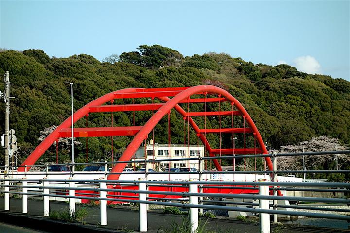 浜名湖おはツー赤い橋