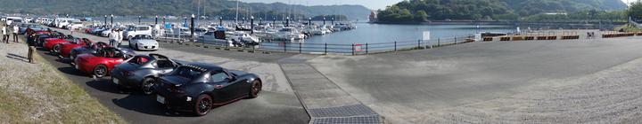 浜名湖おはツーコデマリン(入出マリーナ)全体