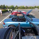 浜名湖おはツー・浜名湖ガーデンパーク駐車場でロードスター達