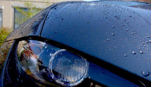 ロードスターRFダイアモンド水滴!初洗車