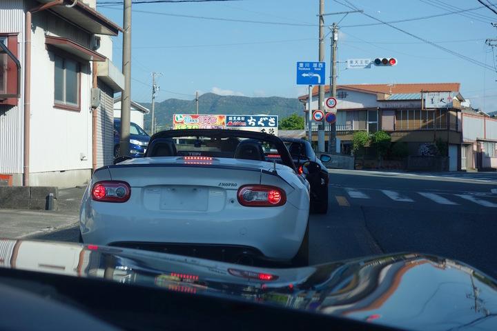 ロードスター・カルガモ走行1
