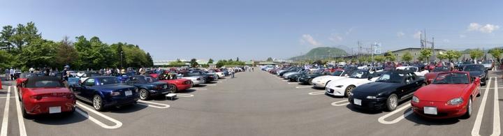 軽井沢ミーティング2018・第1駐車場