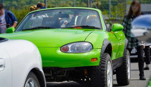 オフロードスターはグリーンに輝く・軽井沢ミーティング2019
