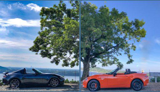 ロードスター30周年記念車納車・RFとバトンタッチ