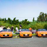 奇跡!ロードスター30周年記念車3台集まる・浜名湖おはつー第22回